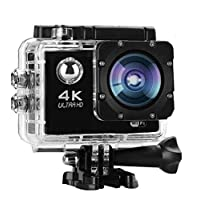 كاميرات اكشن 4K وضوح,تكبير البصري4x وشاشة4K ultra HD100340 -
