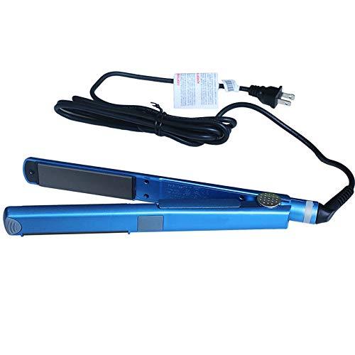 XMDNYE professional Nano-Titankeramik-Haarglätter Eisen passt die Temperatur nass und trocken an Blauer Lötkolben