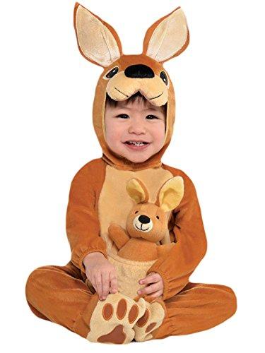 erdbeerloft - Unisex - Baby Karneval Kostüm Känguru, Hellbraun, Größe 80-92, 1-2 Jahre (Baby Känguru Kostüm)