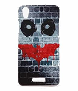 Horror Wall Exculsive Rubberised Back Case Cover For Lava Iris X1 Atom