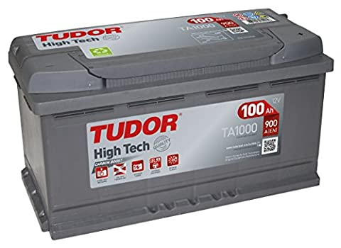 TA1000 Exide Tudor Batterie de Voiture High Tech Carbon Boost 12V 100Ah