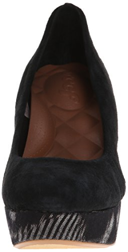 Baskets reef high motif baskets femme Noir