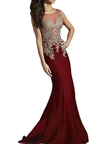 seasonsmall-womens-luxury-prom-dresses-mermaid-scoop-spandex-sweep-train-dresses-size-2-burgundy