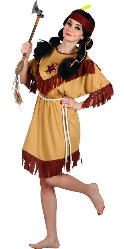 Imagen de wicked  disfraz de india para mujer, talla uk 14  16 ef 2124. m  alternativa