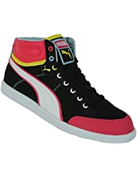 Puma Ikaz MID Womens Damen Schuhe Sneaker Black//Raspberry