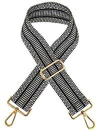 Umily Ajustable Universal Correa de Hombro Cinturón Bolsa Accesorios Bolso De Hombro Del Cinturón Recambio Desmontables Para Mujeres 85cm-135cm