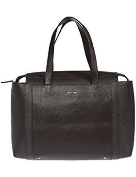 Trussardi Frauen-Handtasche aus echtem Saffiano Leder, 100% Calf - 37x27x18 Cm
