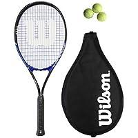 Wilson Grand Slam XL Racchetta da Tennis L4 + 3 Palle - Slam Racchette