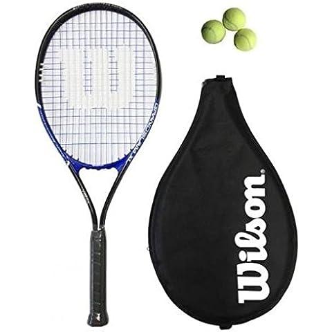 Wilson Grand Slam XL Racchetta Da Tennis L2 + 3 Palline - Slam Racchette