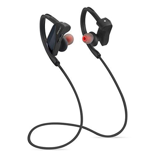 Cancelling Scharfe Noise Kopfhörer (zerwey Bluetooth Kopfhörer, IPX7Wasserdicht Kopfhörer Bluetooth 4.1mit Mikrofon Sport Stereo-Headset, Noise Cancelling In-Ear)