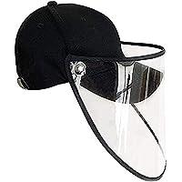 Escudo Del Viento Sombrero, Cabeza De Protección Transparente Cubierta De Protección UV Sombreros De Sun Impermeable A Prueba De Viento A Prueba De Polvo Eléctrico Careta Lluvia Cap Hombres Mujeres Tr