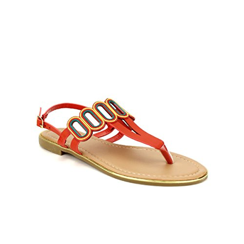 Cendriyon Tongs Rouge Stephan Colors Chaussures Femme Rouge