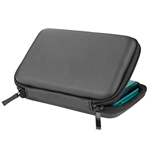 Schwarz Tasche Hülle Case Etui für Nintendo DS Lite 3DS