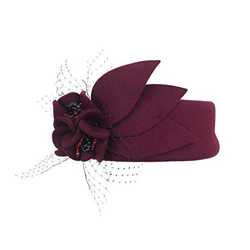 Lawliet - Chapeau - Femme Bordeaux