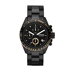 fossil herren armbanduhr chronograph sport ch2619 black ip uhren. Black Bedroom Furniture Sets. Home Design Ideas