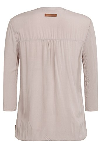 Naketano Female Shortsleeve Diese Motzfotz III Taupe Grey