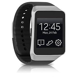 Samsung SM-R382 Galaxy  Gear Live Smartwatch (4,06 cm (1,6 Zoll) Touch-Display, 4GB interner Speicher, Bluetooth, Android Wear OS) schwarz