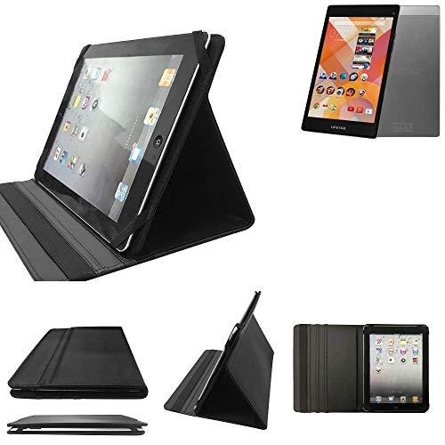 Medion Lifetab S8311 Schutz Hülle Business Case Tablet Schutzhülle Flip Cover Ultra Slim Bookstyle Tasche für Medion Lifetab S8311, schwarz. Kunstleder Qualitätsware - K-S-T