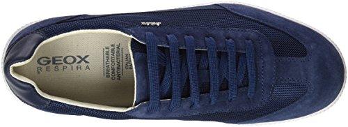 Geox U Keilan B, Sneakers Basses Homme Bleu (Blue)