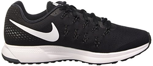 Nike Air Zoom Pegasus 33, Gymnastique homme Negro (Black / White-Anthracite-Cl Grey)