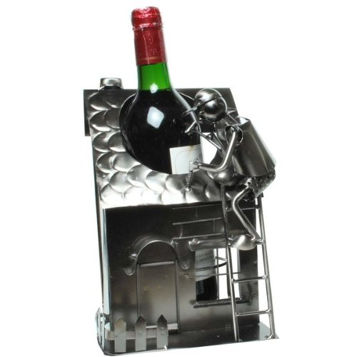 Produktberatung udo schmidt flaschenhalter aus metall for Haus aus metall
