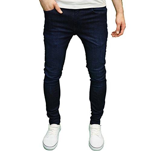 526Jeanswear Herren Jeanshose Schwarz schwarz 71 cm- 107 cm Gr. 30W/30L, Dark Stonewash (Straight Jeans New Mens)