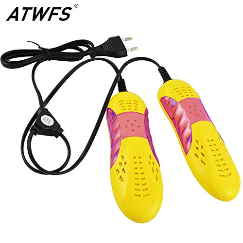 Generic Atwfs Shoe Dryer for Footwear with Ultraviolet Glove Boot Dryer, Warmer Device Heater Deodorant Anti-Bacterial Dehumidif