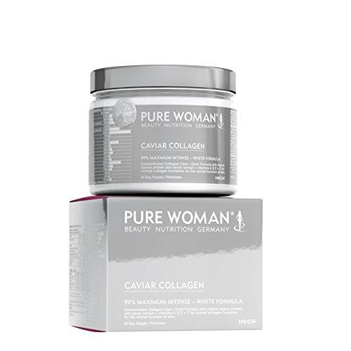 Original Collage (ORIGINAL Caviar Collagen (99%) von PureWoman® Beauty Nutrition Germany 300g)