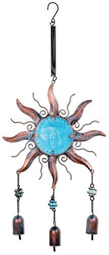 Sunset Vista Designs blau Zen Sun Bouncy Dekoration zum Aufhängen (Sunburst Spinner)