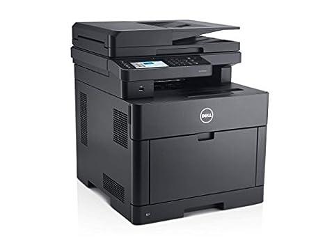 Dell S2825cdn netzwerkfähiger Multifunktions-Farblaserdrucker mit automatischer Duplex Druck- & Scanfunktion (Scanner, Fax, Kopierer & Drucker)