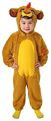 Roi Costume De Déguisement Pour Enfants - Rubie's Costume officiel Disney pour enfant La