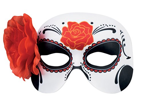 Boland 97524 - Augenmaske Dia de los Muertos La Blanca, Sonstige Spielwaren (El Dia De Los Muertos Halloween-kostüme)