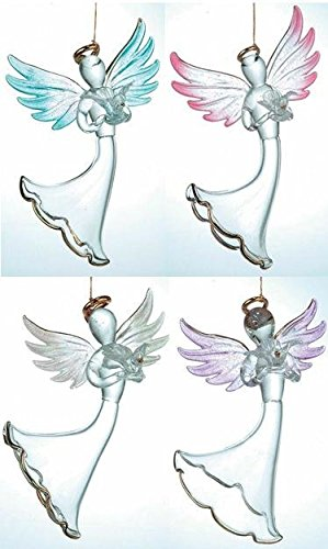 -110z Angel Dekoration Figur, Set von 4 ()