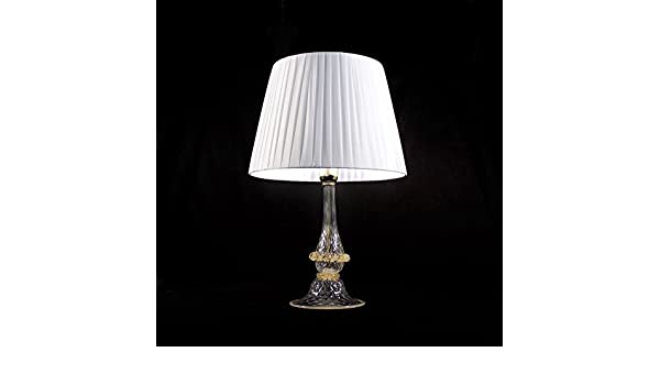 Ampolla lampada da tavolo in vetro di murano: amazon.it: illuminazione