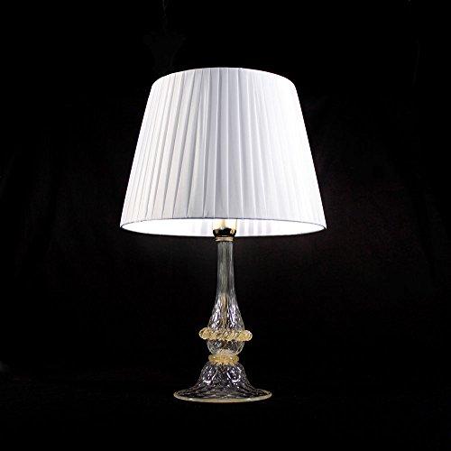 e6c79f9d2c56bc Ampolla Lampe en verre de Murano avec abat-jour
