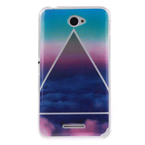 Cozy Hut®– Funda de silicona TPU para Sony Xperia E4–Protección total -...