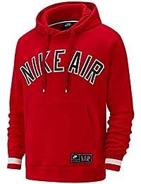 Nike M NSW Air Po FLC, Felpa Uomo, University Red, XS