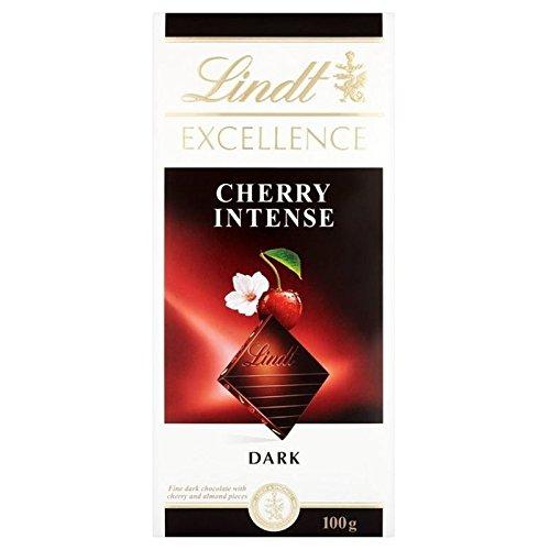 Lindt Excellence Cerise Noire 100G - Paquet de 6