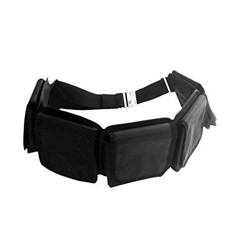 Sharplace Cinturón de Pesas Buceo Hebilla de Plástico Cincha de 59