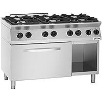 0de6f18bd87dc1 Bartscher 1582201 Autonome Acier inoxydable four et cuisinière - Fours et  cuisinières (Cuisinière, Acier