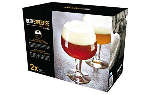 Durobor 66673Gusto - Set de 2Copas de Cerveza Transparentes