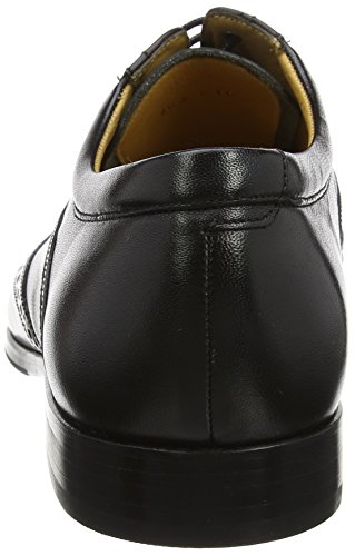 BARKER Herren Bakewell Oxfords Black (Black Calf)