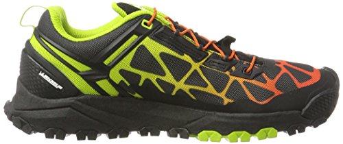 Salewa Multi Track Halbschuh, Chaussures Multisport Outdoor Homme Noir (Black/cactus 0916)