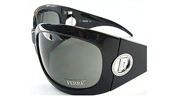 13d73aa4355a New Gianfranco Ferre Sunglasses Gf-78301 Grey Lens   Black With Rhinestones  Frame Gf78301 Size  70-18-110  Amazon.co.uk  Clothing