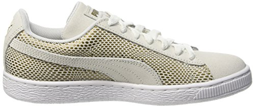 Puma Damen Gold 361862 Low-Top Weiß - Weiß (White)
