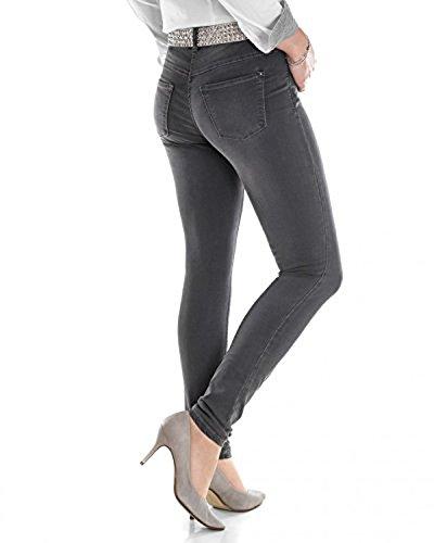 MAC Jeans Dream Skinny Power Stretch 0355L D962 5402 90, Grau, D38/L30 - Power-stretch-denim