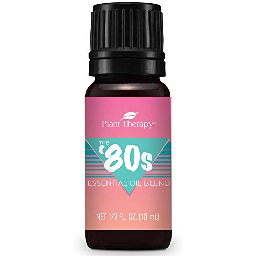 Plant Therapy 80's Decades Essential Oil Blend 10 mL (1/3 oz) 100% Pure, Undiluted -