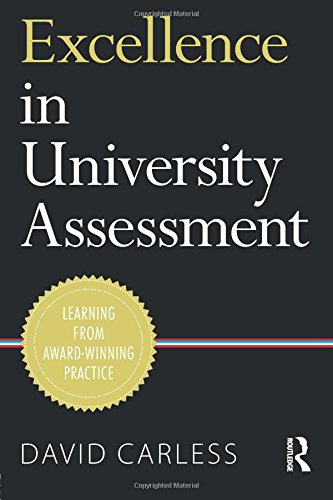 Excellence in University Assessment: Learning from award-winning practice