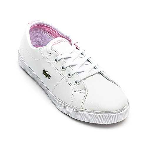 Chaussures Marcel LCR SPC Blanc Rose - Lacoste Blanc