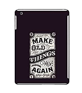 Ebby Premium Printed Back Case Cover With Full protection For Apple iPad Mini (Designer Case)